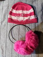 Отдается в дар Тонкая шапочка и пушистые наушники.