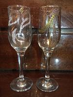Отдается в дар Бокалы для шампанского новые шикарные