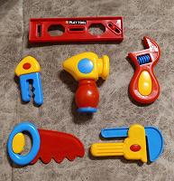 Отдается в дар Набор игрушечных инструментов