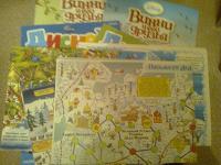 Отдается в дар 2 журнала «Дисней» для малышей 2012 г и 2 журнала «Винни и его друзья» + 4 игровых поля с новогодней тематикой
