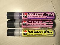 Отдается в дар Контуры объёмные Marabu Fun Liner, 3 шт.