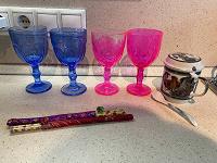 Отдается в дар Бокалы, чашка, палочки