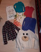 Отдается в дар Большой пакет женской одежды S-M