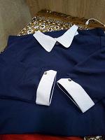 Отдается в дар Платье темно-синего цвета 46 р