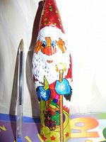 Отдается в дар «Шоколадный» Дед Мороз