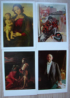 Отдается в дар Музей Пушкина (открытки)