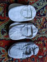 Отдается в дар чешки/балетки, обувь для танцев