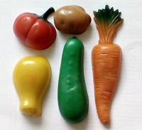 Отдается в дар Магниты овощи на…