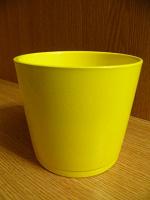 Отдается в дар Кашпо (цветочный горшок без дырочек на дне), керамика, V 1л.
