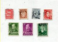 Отдается в дар В коллекцию — марки Норвегия