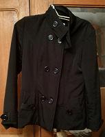 Отдается в дар Куртка черная р. 44-46