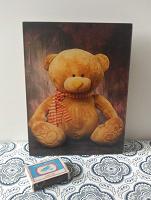 Отдается в дар Картина с медвежонком 20х15
