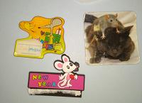 Отдается в дар Магниты на холодильник (мышки)