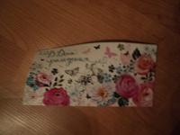 Отдается в дар Открытка конверт для денег