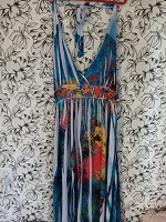 Отдается в дар платье наверное пляжное