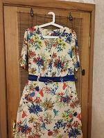 Отдается в дар Женское летнее платье INTIKOMA. Размер 54