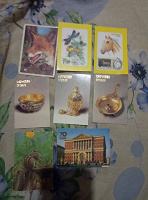 Отдается в дар Календарики СССР