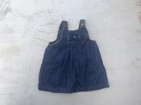 Отдается в дар Сарафан джинсовый, размер на 3-6 месяцев