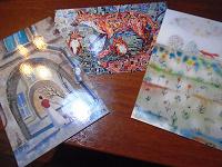 Отдается в дар Три открытки с лисами