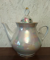 Отдается в дар Чайник фарфоровый СССР (70-годы), новый