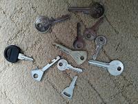 Отдается в дар ключи в коллекцию