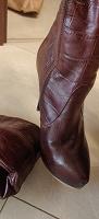 Отдается в дар сапожки кожаные