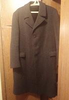 Отдается в дар Мужское пальто драповое, тяжелое