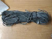 Отдается в дар кабель 5 категория с заделанными наконечниками