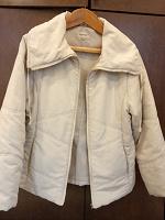 Отдается в дар Куртка светлая демисезон 48