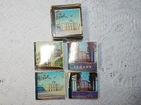 Отдается в дар Набор мини-открыток сувенирный