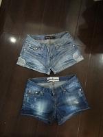 Отдается в дар Шорты джинсовые, короткие