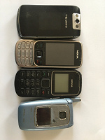 Отдается в дар Телефоны старые