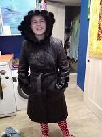 Отдается в дар Тёплая куртка 48