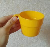 Отдается в дар Кружка и рамка пластиковые