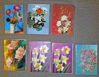 Отдается в дар открытки с цветами СССР