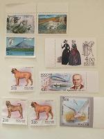 Отдается в дар Почтовые марки
