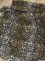 Отдается в дар Отрез леопардовой ткани