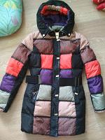 Отдается в дар Пальто зимнее пуховое 40-42 размер