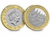 Отдается в дар 2 фунта 2019. Великобритания
