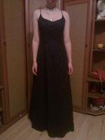 Отдается в дар Шикарное вечернее платье, L р-р