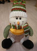 Отдается в дар Банка-снеговик