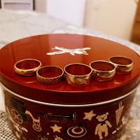 Отдается в дар кольца из СССР
