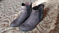 Отдается в дар Коричневые ботинки 40 размер
