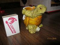 Отдается в дар подсвечник черепаха