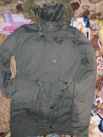Отдается в дар Куртка осенняя с капюшоном