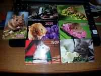 Отдается в дар Карманные календарики «Мышки» 2.