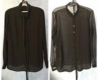 Отдается в дар черные блузки 48