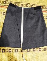 Отдается в дар Офисная/школьная юбка с запАхом Zolla 42-44