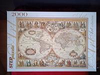 Отдается в дар Пазлы Старая карта