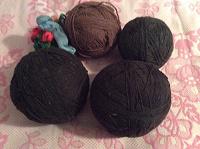 Отдается в дар Пряжа для вязания ковриков